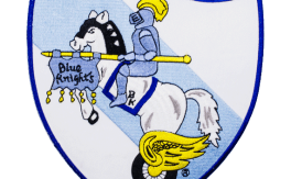blue knights center patch