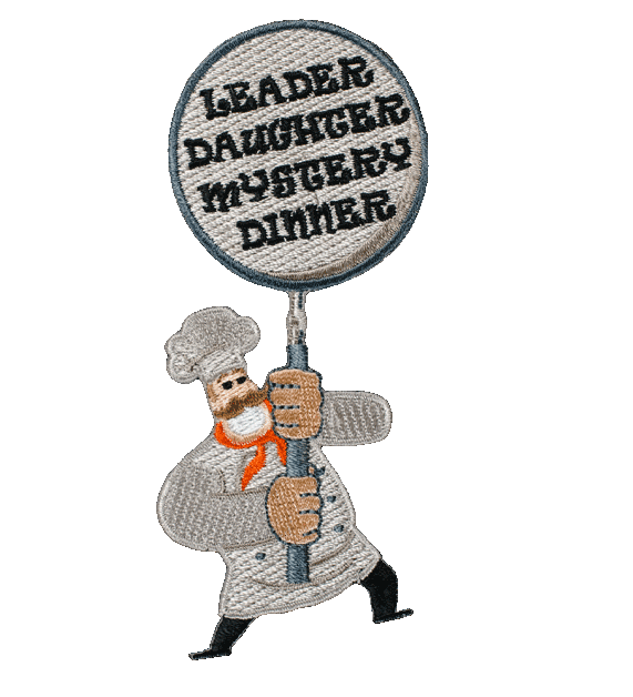 Leader Daughter mystery dinner patches