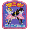 Girl Scout Sock Hop Patch