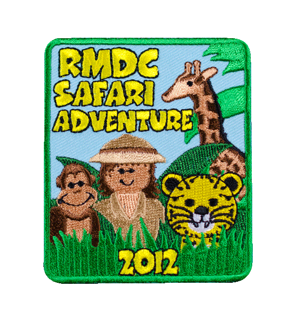 Girl Scout Safari Adventure Theme Patch