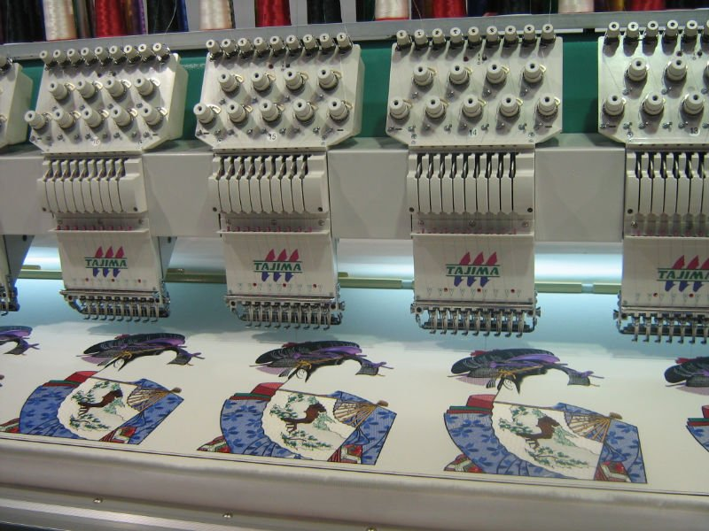 patch embroidery machine