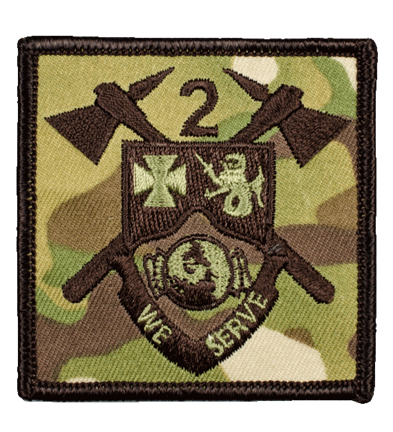Multi Cam Unit and Battalion Patches