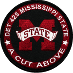 Mississippi State Collegiate Patches